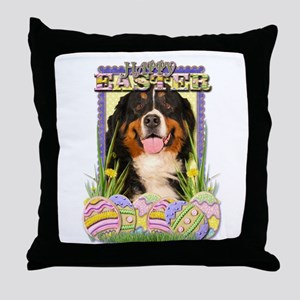 Easter Egg Cookies - Bernie Throw Pillow