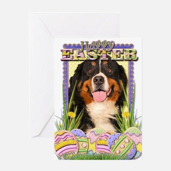 Easter Egg Cookies - Bernie Greeting Card