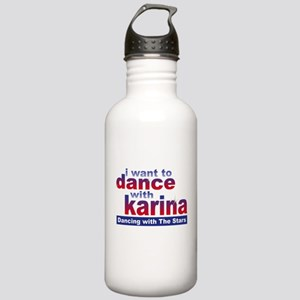 I Want to Dance with Karina Stainless Water Bottle