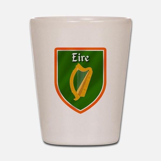 Eire Irish Shot Glass