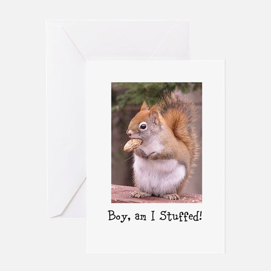 Cute Thank you note Greeting Card