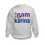 DWTS Team Karina Kids Sweatshirt