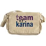 DWTS Team Karina Messenger Bag