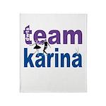 DWTS Team Karina Throw Blanket