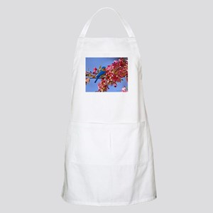 Bluebird in Blossoms Apron