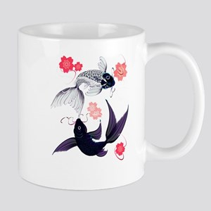 Yin and Yang Koi and Cherry B Mug