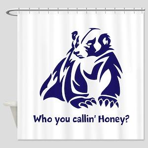 Honey Badger Tough Shower Curtain