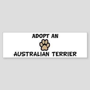 Adopt a AUSTRALIAN TERRIER Bumper Sticker