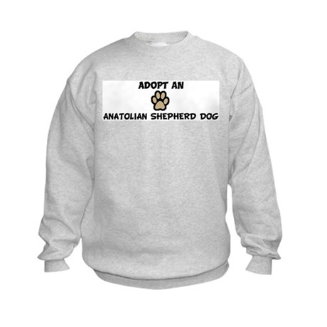 Adopt an ANATOLIAN SHEPHERD D Kids Sweatshirt