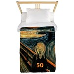 Scream 50th Twin Duvet