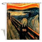 Scream 50th Shower Curtain