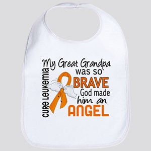Angel 2 Leukemia Bib