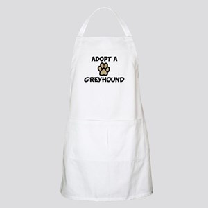 Adopt a GREYHOUND BBQ Apron