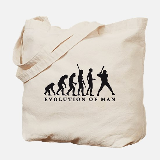Funny Base stealing Tote Bag
