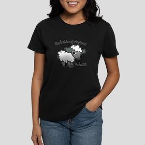 The Lord is my Shepherd Women's Dark T-Shirt