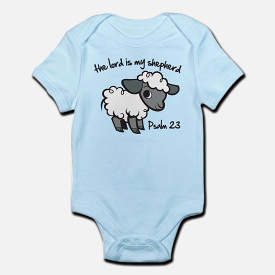 The Lord is my Shepherd Infant Bodysuit