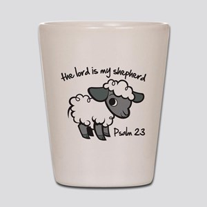 The Lord is my Shepherd Shot Glass