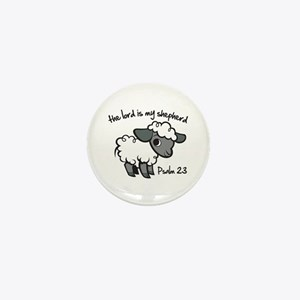 The Lord is my Shepherd Mini Button