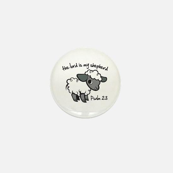 The Lord is my Shepherd Mini Button