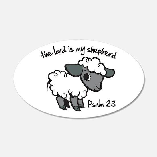 The Lord is my Shepherd Wall Sticker