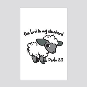 The Lord is my Shepherd Mini Poster Print