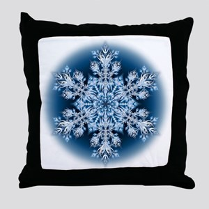 Snowflake 32 Throw Pillow