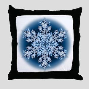 Snowflake 32 Throw Pillow