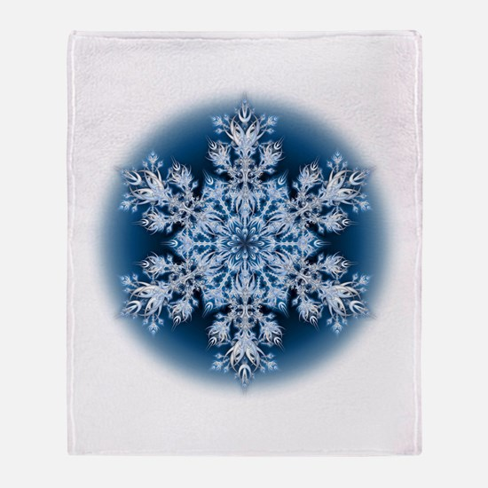 Snowflake 32 Throw Blanket