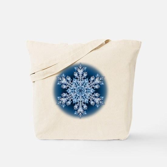 Snowflake 32 Tote Bag