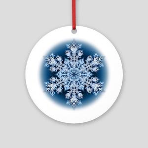 Snowflake 32 Ornament (Round)