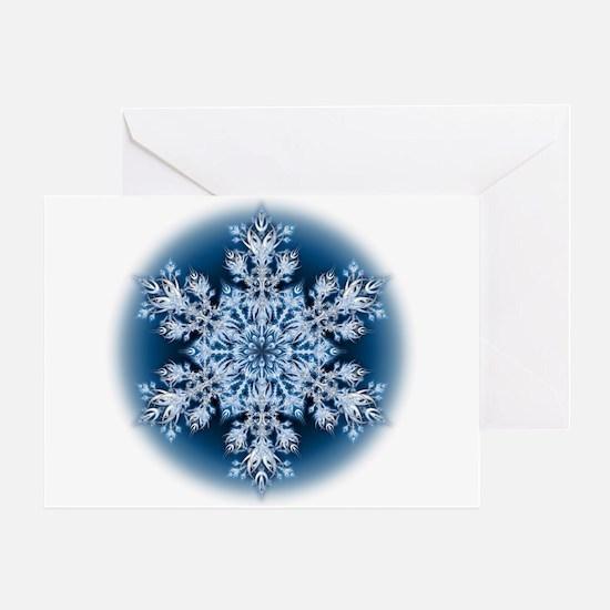 Snowflake 32 Greeting Card