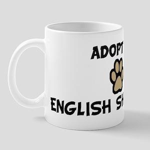 Adopt an ENGLISH SHEPHERD Mug