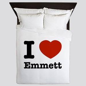 I love Emmett Queen Duvet