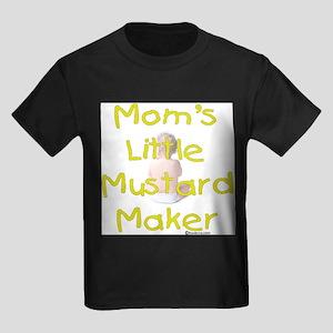 Mom's Mustard Maker Kids Dark T-Shirt