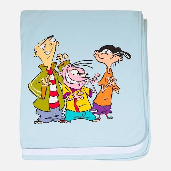 Ed, Edd & Eddy baby blanket