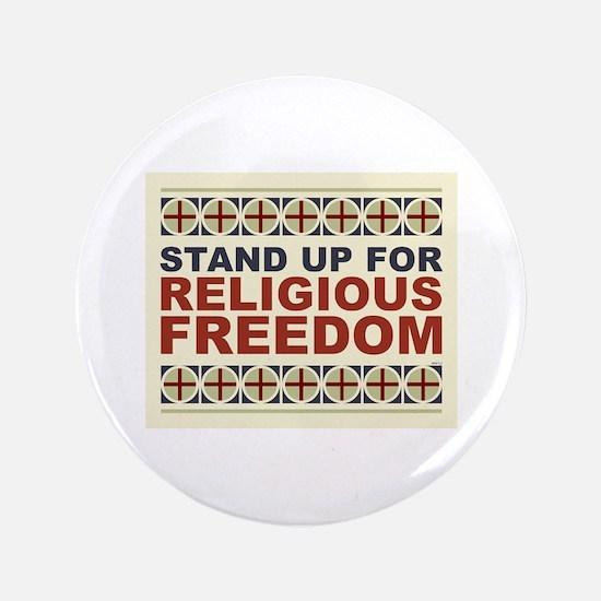 """Religious Freedom 3.5"""" Button"""