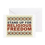 Religious Freedom Greeting Card