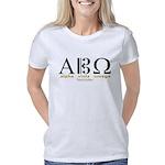 Alpha Viola Omega lt Women's Classic T-Shirt