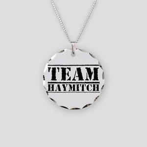 Team Haymitch Necklace Circle Charm