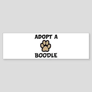 Adopt a BOODLE Bumper Sticker