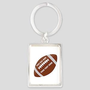 Football Customized Portrait Keychain