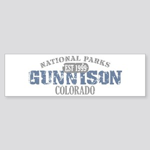 Gunnison National Park CO Sticker (Bumper)