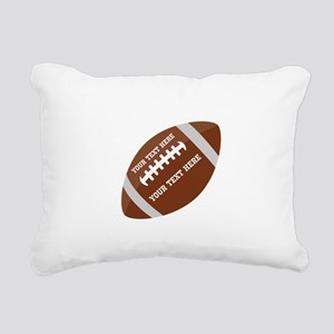 Football Customized Rectangular Canvas Pillow