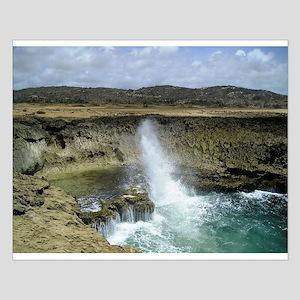 Aruba North Shore Small Poster
