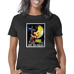 Paris La Nuit Ville des Fo Women's Classic T-Shirt