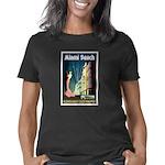 Miami Beach Art Deco Railw Women's Classic T-Shirt
