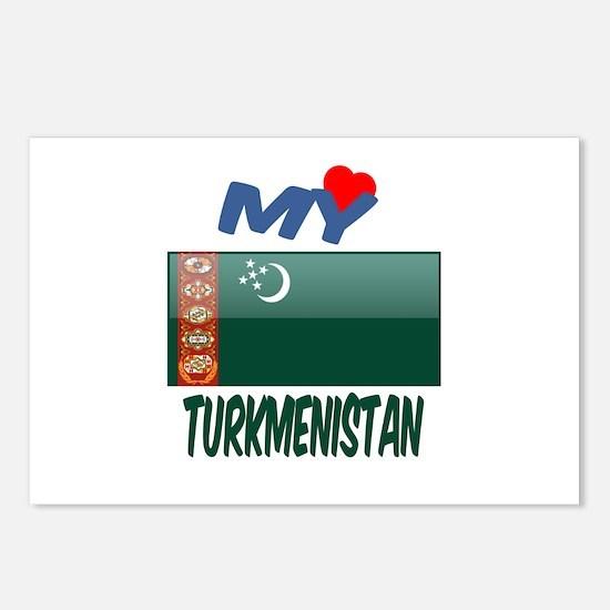 My Love Turkmenistan Postcards (Package of 8)