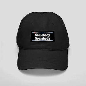 Custom Identity 2 line Black Cap