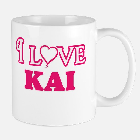 I Love Kai Mugs