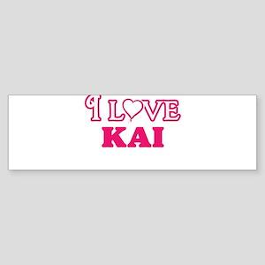 I Love Kai Bumper Sticker